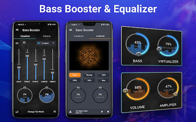 Image 2 of Equalizer - Volume Booster, Bass