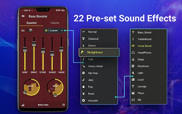 Image 1 of Equalizer - Volume Booster, Bass
