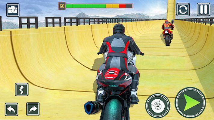 Screenshot of Motorcycle Stunt Game: Bike Stunts