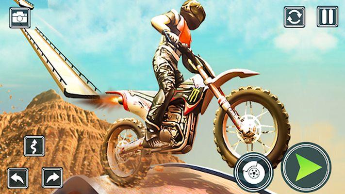 Screenshot 9 of Motorcycle Stunt Game: Bike Stunts