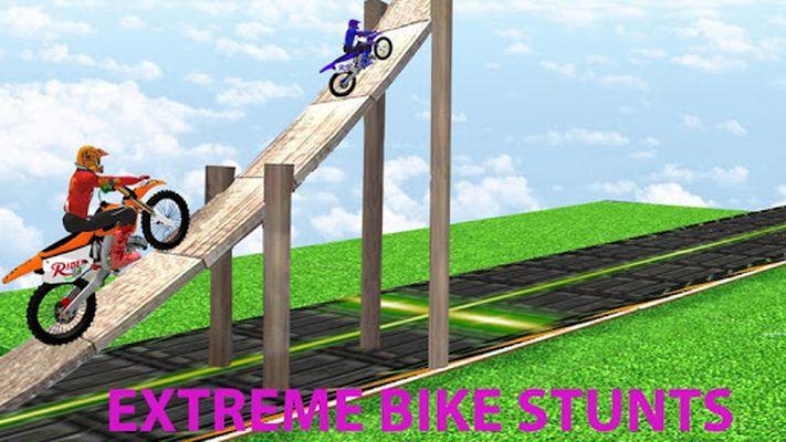 Screenshot 2 of Motorcycle Stunt Game: Bike Stunts