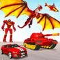 Flying Dragon Robot Car - Robot Transforming Games