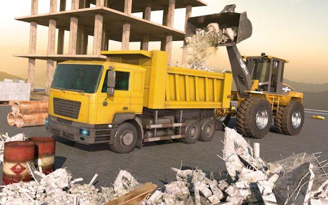 Image 1 of Heavy Crane Excavator Construction Transportation