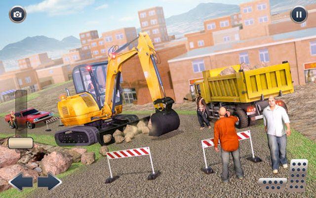 Image 3 of Heavy Crane Excavator Construction Transportation