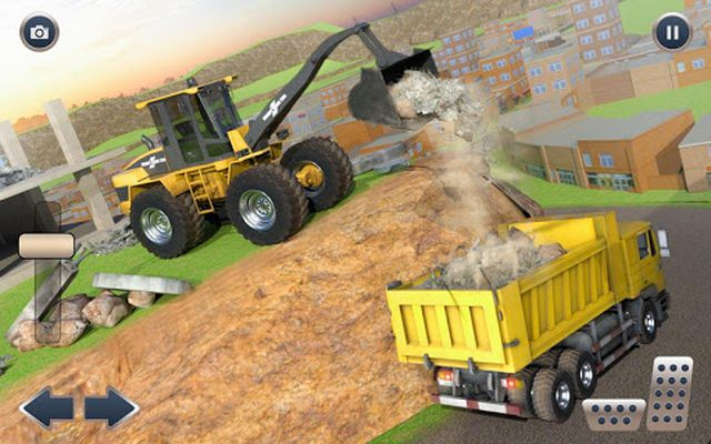 Image 2 of Heavy Crane Excavator Construction Transportation