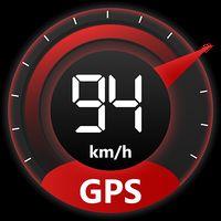 Ícone do GPS off-line velocímetro digital e odômetro HUD