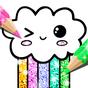 Kawaii para Colorir Glitter: Jogo de Colorir