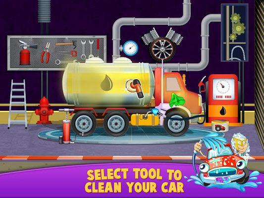 Image 2 of Workshop station of the car wash salon