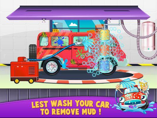 Image 1 of Workshop station of the car wash salon
