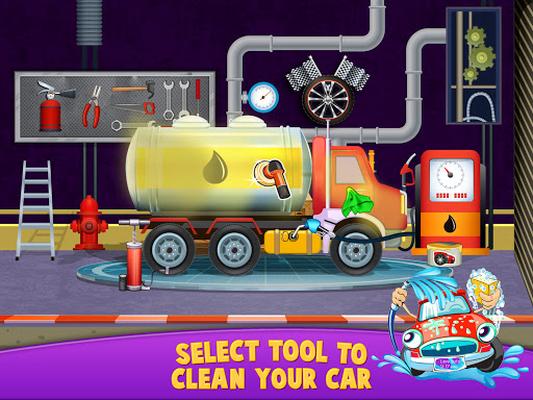 Image 12 of Car wash salon workshop station