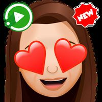 Icoană New Funny Stickers Emojis 3D WAstickerapps