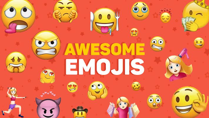 Image of New Funny Stickers Emojis 3D WAstickerapps
