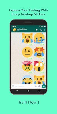 Image 3 of Emoji Mashup WAStickerApps