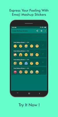Image 2 of Emoji Mashup WAStickerApps