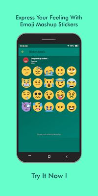 Image 1 of Emoji Mashup WAStickerApps