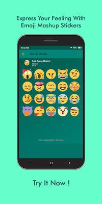 Image of Emoji Mashup WAStickerApps