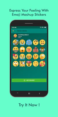 Image 13 of Emoji Mashup WAStickerApps