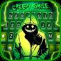 Tema Keyboard Creepy Devil Smile