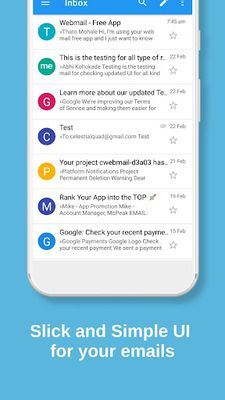 Image 4 of WebMail - Mobile App