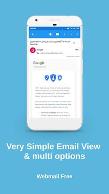 Image 2 of WebMail - Mobile App
