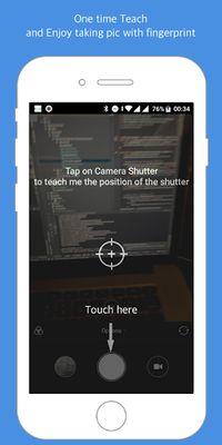 Image 2 of Fingerprint Camera shutter