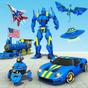 Polis robot araba öfke - robot oyun çekim