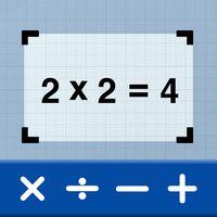 Ícone do Scanner de matemática por foto