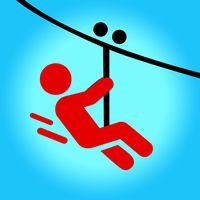 Zipline Valley - 물리학 퍼즐 게임 아이콘