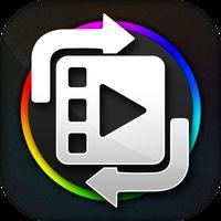 Ícone do Qualquer conversor de vídeo de formato e cortador.