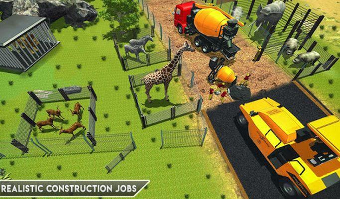 Image 8 of Animal Zoo Construction Simulator