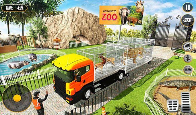 Image 4 of Zoo Animal Construction Simulator