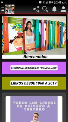 Image 1 of TEXT BOOKS FROM ELEMENTARY TO TELEBACCHILLERATO
