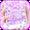 Purple Diamond Love Toetsenbord Thema