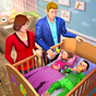Virtual Mother Baby Twins Family Simulator Game