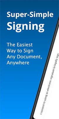 JetSign Signature App Image 1: Sign PDF & Word Doc files