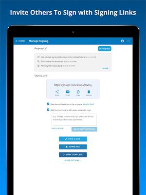 Image 19 of JetSign Signature App: Sign PDF & Word Doc files