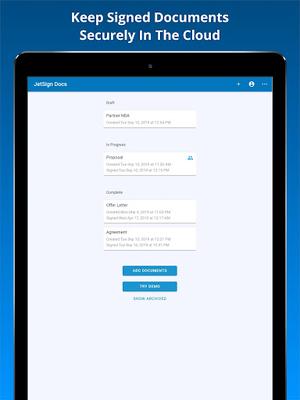 Image 21 of JetSign Signature App: Sign PDF & Word Doc files