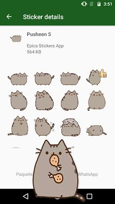 Image 5 of WAstickerApps Cats and Kittens Stickers