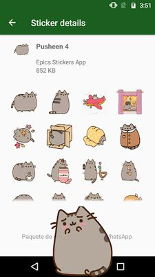 Image 4 of WAstickerApps Cats and Kittens Stickers