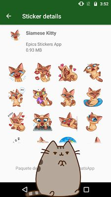 Image of WAstickerApps Cats and Kittens Stickers