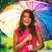 魔法の雨のエフェクト写真エディターと水のДропс アイコン