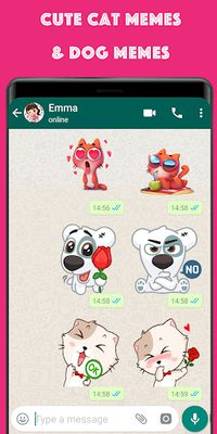 Image 4 of WAStickerApps meme stickers and love stickers