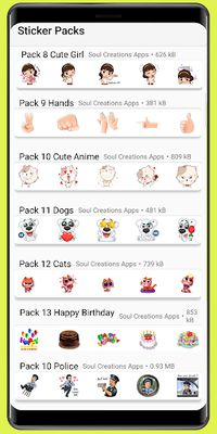 WAStickerApps image stickers meme and love stickers