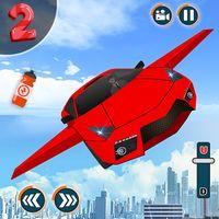 Εικονίδιο του Πετώντας αυτοκίνητο - Μετασχηματισμός ρομπότ Αυτοκ