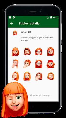 Image 1 of New Stickers of Emojis in 3D (WAstickerapps)