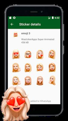Image 4 of New Stickers of Emojis in 3D (WAstickerapps)