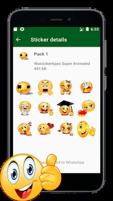 Image 6 of New Stickers of Emojis in 3D (WAstickerapps)