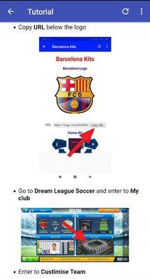 Image of Dream League Kits Soccer