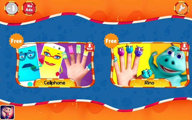 Image 1 of Finger Family Nursery Rhymes and Songs