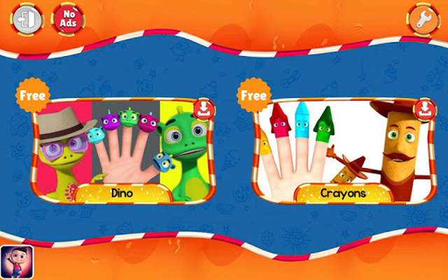 Image 12 of Finger Family Nursery Rhymes and Songs